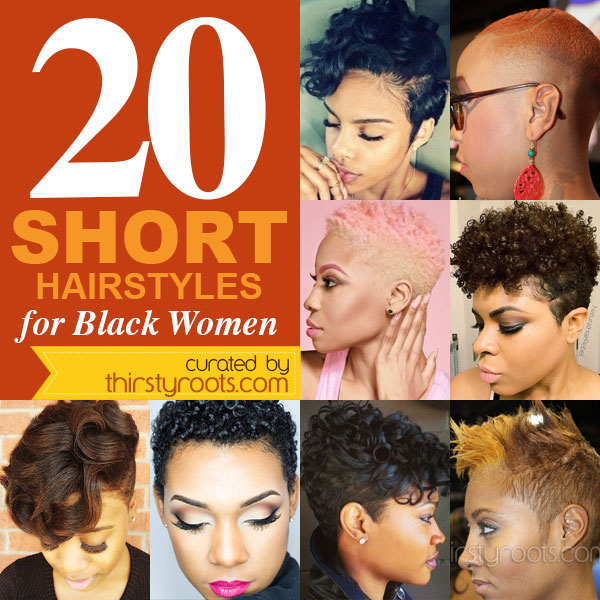 20 Amazing Short Hairstyles For Black Women