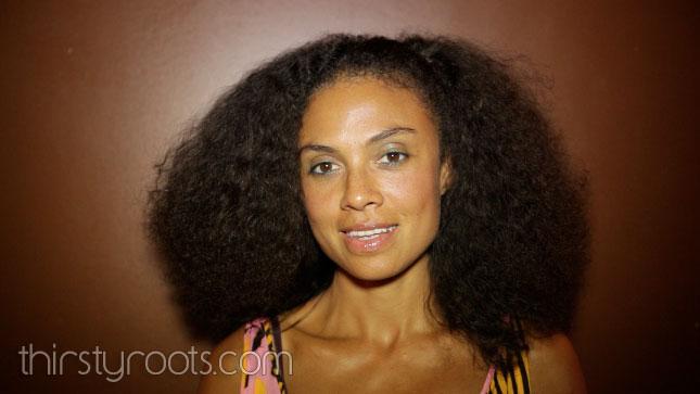 Amel Larrieux Hair Regimen