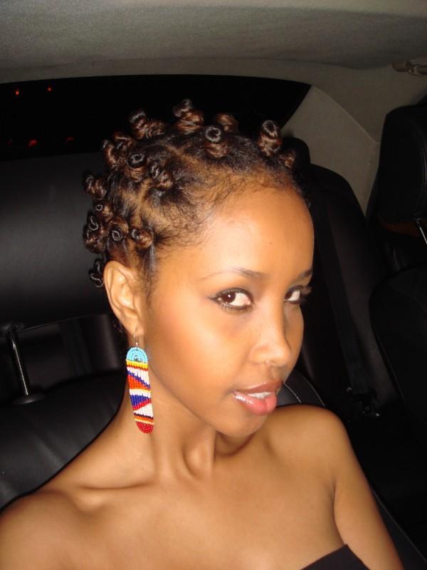 Black Hair Bantu Knots Hairstyles
