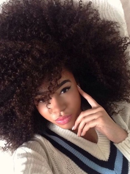 Natural Afro Hairstyles for Black Women To Wear