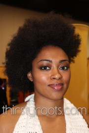 natural afro hairstyles black