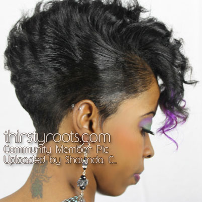 Razor Cut Hairstyles For Black Women