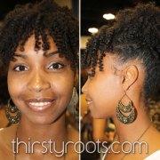 cute natural hair styles