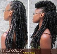 kinky twists and braids