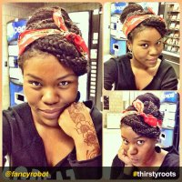 Styling Box Braids With Scarves | go 2 style lookbook rock ...