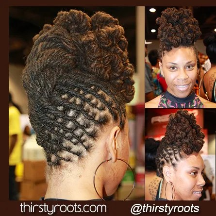 Remarkable 101 Ways To Style Your Dreadlocks Art Becomes You Hairstyles For Women Draintrainus