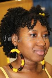 black hair twist