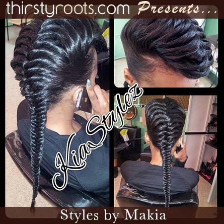 Fishtail Braid Hairstyles For Black Hair
