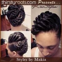 fishtail-braid-updo-hairstyle - thirstyroots.com: Black ...
