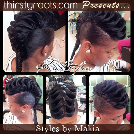 quickweave fishtail hairstyle thirstyroots black hairstyles