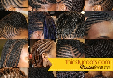 Short Hair Cornrows Women