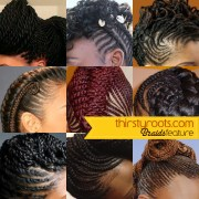 braids hair growth and length