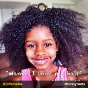 mother and daughter natural hair