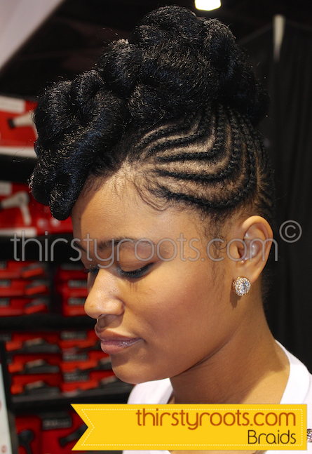 Braided Hairstyles Black Women 2014