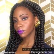 celeb hairstyle evolution teyonah
