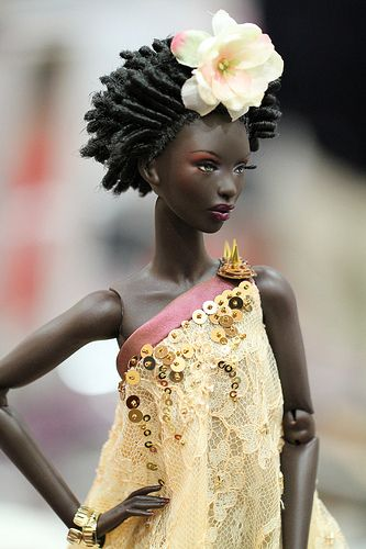Thirsty Roots Black Barbie Dolls Feature