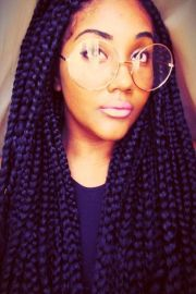 box braids hairstyles black