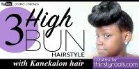 6 Easy Updo High Bun Hairstyle Tutorials for Black Women