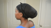 How To Secure Satin Scarves for Natural Hair