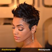 stunning haircuts black