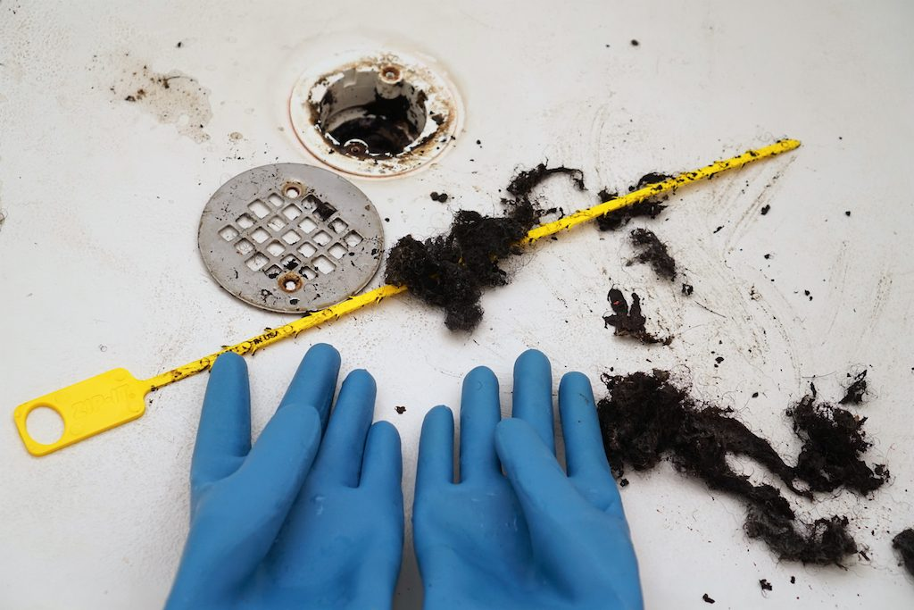 How To Unclog A Bathtub or Shower Drain From Hair