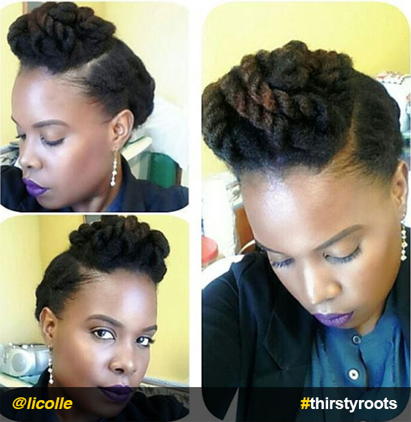 Chunky-Twists-updo-natural-hairstyle