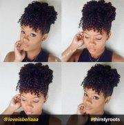 natural hair updo hairstyles