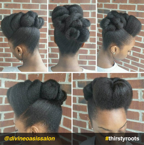 13 Natural Hair Updo Hairstyles You Can Create