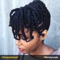 African American Braided Hairstyles With Bangs - HairStyles