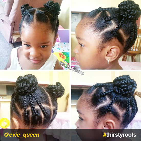 box-braids-bun-ponytails-natural-hairstyle-for-little-girls