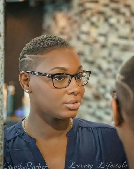 17 Best Images About Barber Cuts For Black Women On Pinterest