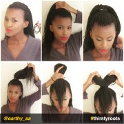 bow hairstyle braids