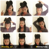 How to do a Bow Hairstyle on Braids or Locs