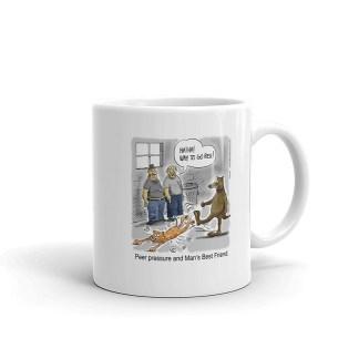 mans best friend coffee mug 11oz