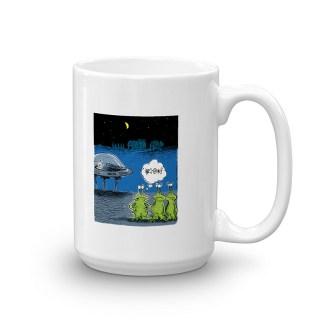 Area 51 Aliens Coffee Mugs