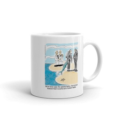 bottom feeder coffee mug 11oz