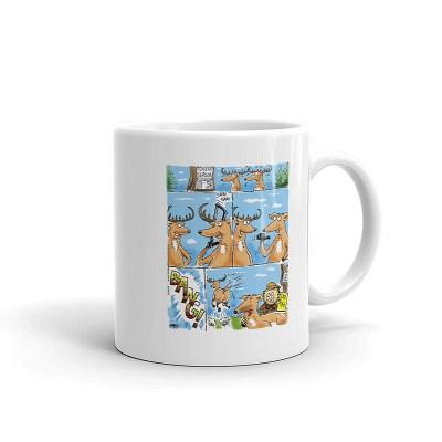 whitetail doe tag coffee mug 11oz