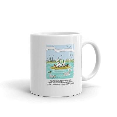 sitting hunting ducks coffee mug 11oz