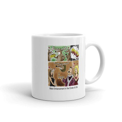 antler addict coffee mug 11oz