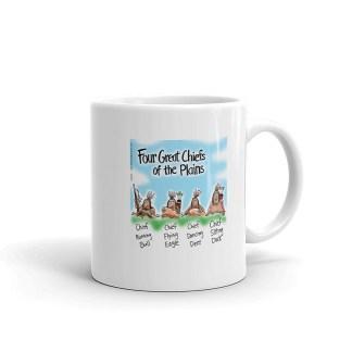 four great indian chiefs coffee mug 11oz