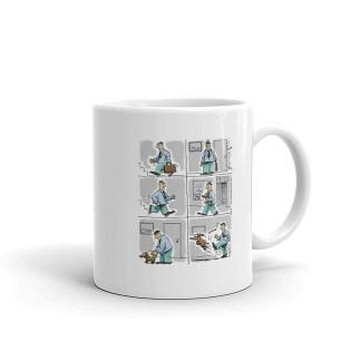 kick the dog coffee mug 11oz