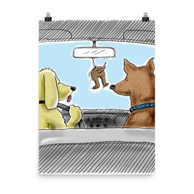 Dog Air Freshener Prints