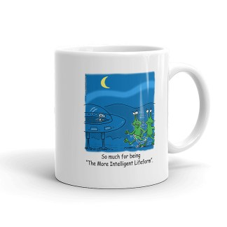More Intelligent Lifeform Coffee Mugs