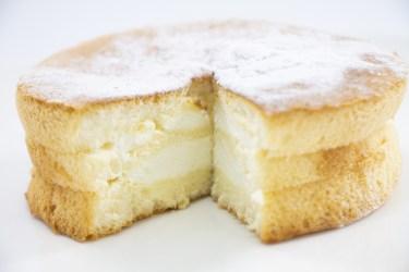 シフォンケーキの失敗で多い「生焼け」の原因と対策