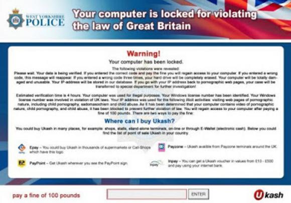 West Yorkshire Police Virus