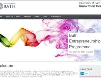 Screen grab of UBIC website