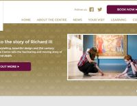King Richard III Visitor Centre website homepage