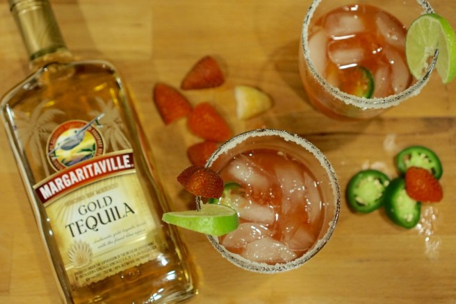 Margaritaville Strawberry Jalapeno Margaritas