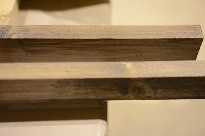 Gray wood stain