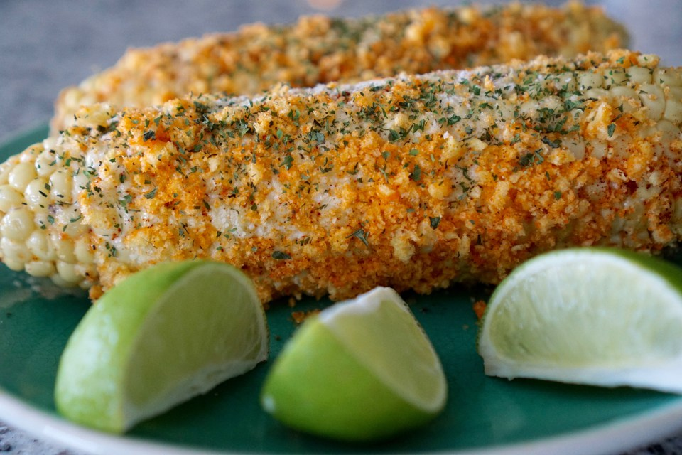 This recipe brings the traditional Elote recipe to another level of yumminess. Give it a try